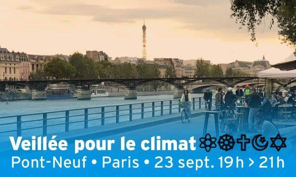 Veillée inter-religieuse pour le climat lundi 23 SEPTEMBRE