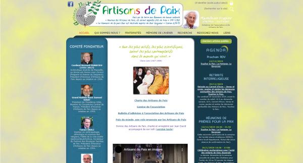 Réunion interreligieuse de prière Artisans De Paix (Lundi 25 novembre 2019)
