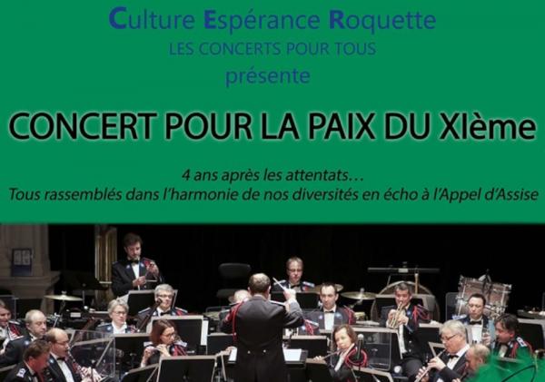 Le Concert pour la Paix du XIème